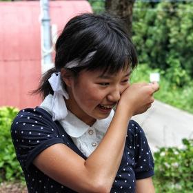 Радостта на една малка японка