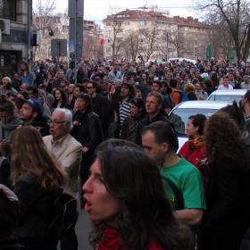 Протест против застрояването на Карадере! 3