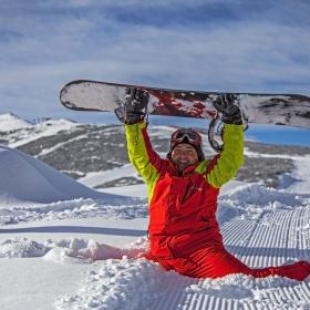 Сноубордиста и Снега !