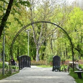 Градската градина в Ямбол :)