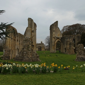 Glastonbury Abbey -uk