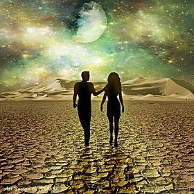 По лунната пътека, но на една друга планета!