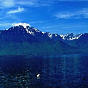 Гледка към Алпите