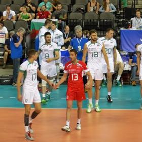 Световна лига по волейбол,България срещу САЩ