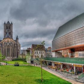 Панорамно с църквата