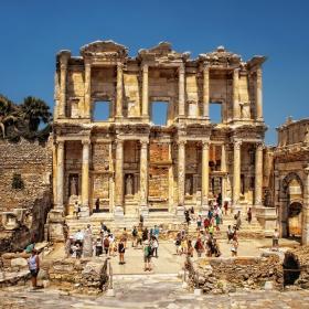 Ефес - Библиотеката на Целз
