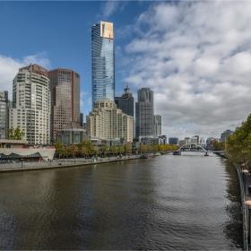 Melbourne и река Yarra