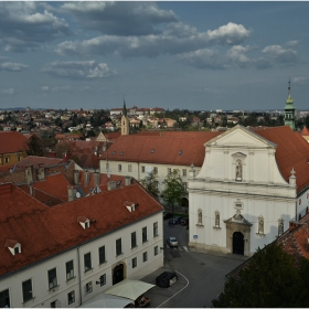 Привечерно над Загреб