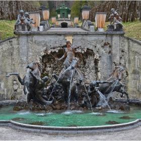 Линдерхоф - фонтанът на Нептун