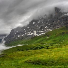 North Face - в подножието на Eiger