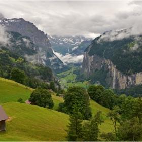 Долината Lauterbrunnen