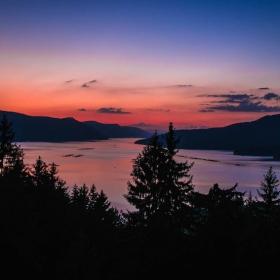 Sundown over Dospat