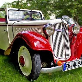 Adler Trumpf Junior  Cabriolet- 1938 г.
