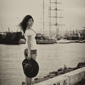 На пристанището