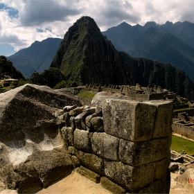 2430м 7970 фута над морското равнище . Изгубеният град на инките