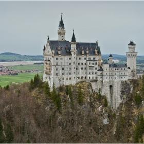 Замък Нойшванщайн  - класически поглед
