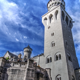 Замъкът - Neuschwanstein - Детайл