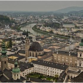 От крепостните стени на Hohensalzburg