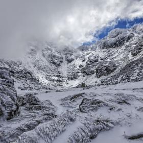 Нося сняг и студ ..... от Мальовица !