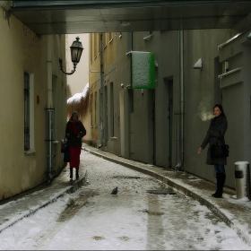 Вильнюс.В Старом городе.