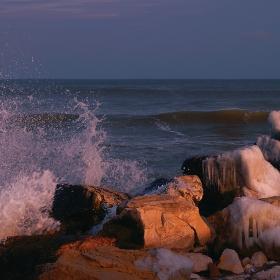 Зимно море...