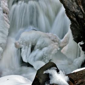 река Ерма през зимата