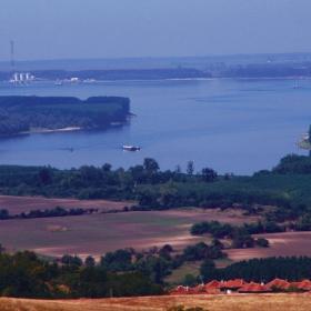 Поглед към р. Дунав...