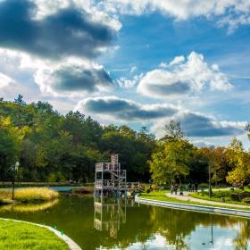 Езерото в град Добрич