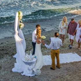 Свадба на плажа