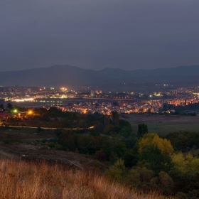 нощ над града