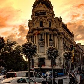 Залeз  в Мадрид