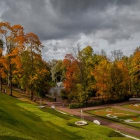 Есен в Петерхоф