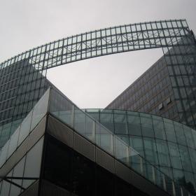 сградата на  Commission europeene или Europese Commissee  -
