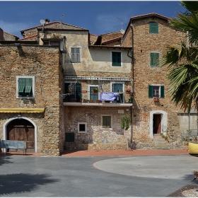 Sasso di Bordighera - едно от многото лигурски селища-цитадели