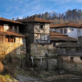 Старите къщи на Елена