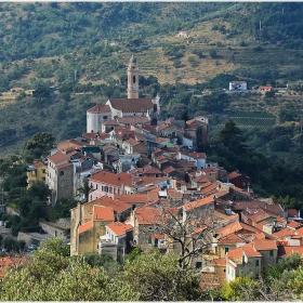 Из провинцията на Лигурия - Civezza, Italia