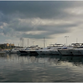 Antibes Harbor, France