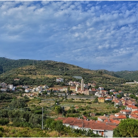 Из провинцията на Лигурия - Pompeiana, Italy