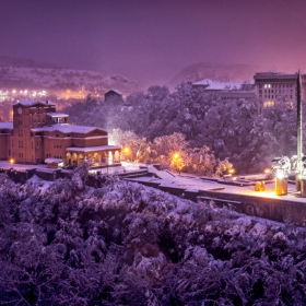 Студена, зимна нощ
