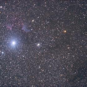 Ic59 Ic63 в съзвездие Касиопея