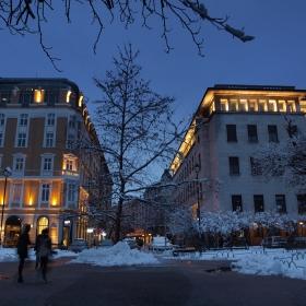 Зимни разходки - 3 (Градската градина и ул.