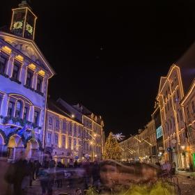 Коледна Любляна