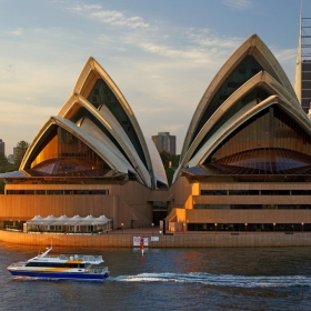 Sunrise over The Sydney Opera House 2