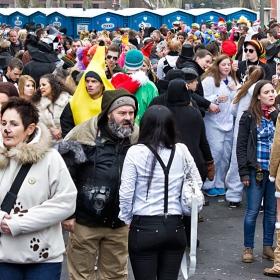 Скици от карнавала в Bad Kreuznach, 2015...  Шарен свят- весел свят..