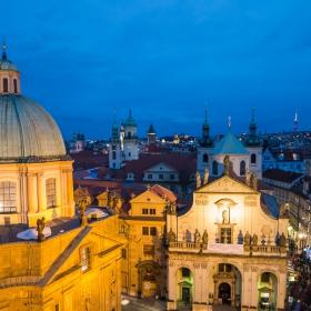 Нощна Прага