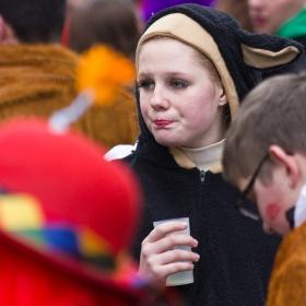 Скици от карнавала в Bad Kreuznach, 2015...  Капризната...