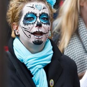 Скици от карнавала в Bad Kreuznach, 2015...   тюркоазено настроение...