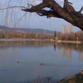Езерото Загорка (през тилифоня)