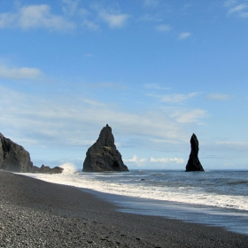 На плаж в Исландия - 2 - Reynisfjara