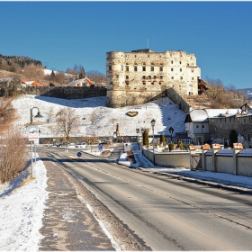 Край стените на Gmünd (1252 г.)
